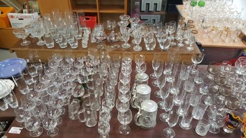 Gläser gebraucht