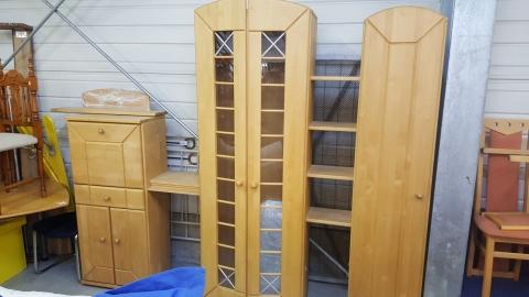 Kasten, Holzkasten, Wandverbau,