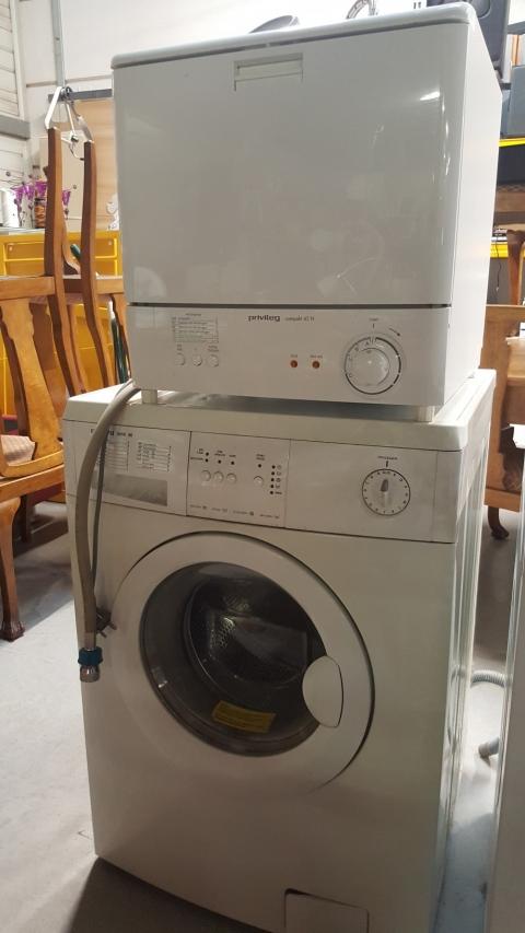Waschmaschine, weiss, Trockner, Trockenmaschine, Priviteg
