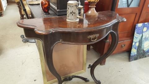 Tisch, Stehtisch, Holz, braun, Wandtisch,