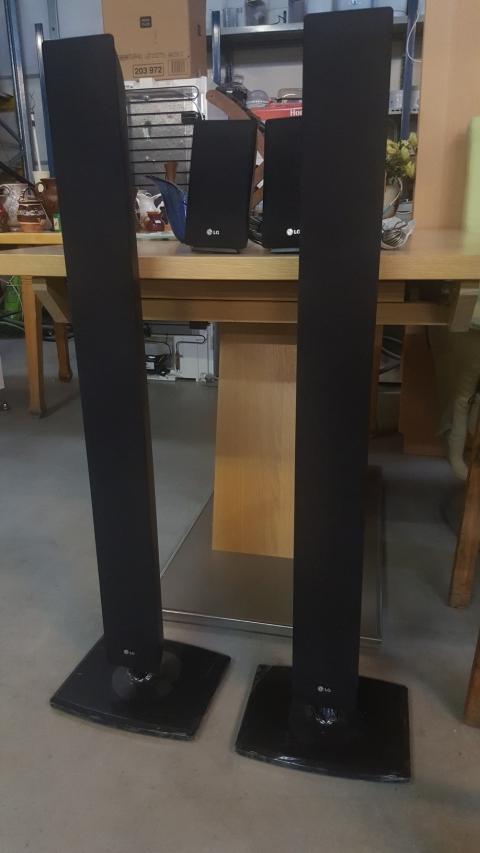 Lautsprecherboxen, Boxen, schwarz, LG,