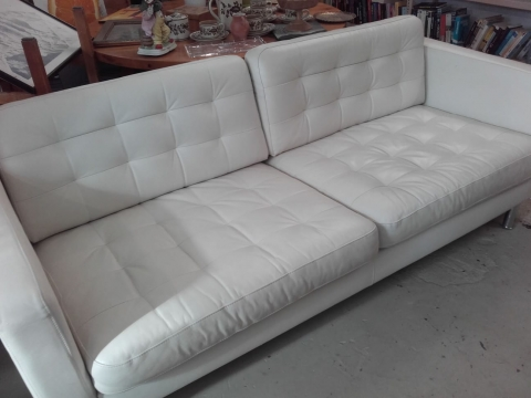 Sofa, Stoff, Stoffsofa, couch, weiss,
